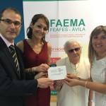 FAEMA Salud Mental Ávila recibe el apoyo de la Red Solidaria de Bankia