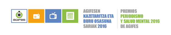 Premios Periodismo y Salud Mental  2016 de AGIFES