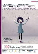 Herramienta para la sensibilización, detección y prevención de la violencia contra las mujeres con enfermedad mental