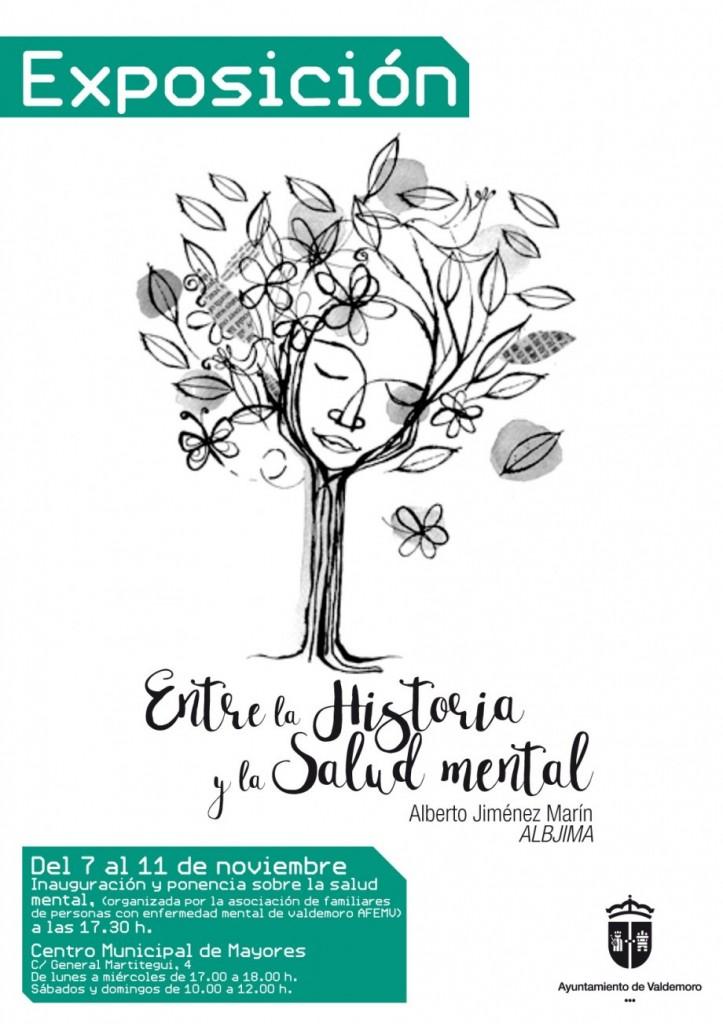 Exposición de AFEMV Salud Mental en Valdemoro