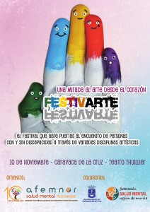 Festival Festivarte de AFEMNOR Salud Mental Murcia
