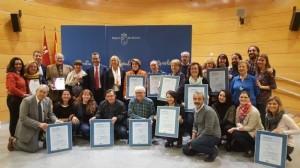 Entrega de certificados de calidad a Salud Mental Murcia