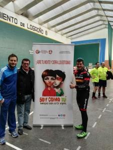 Carlos Coloma en el torneo de FEAFES-ARFES Pro Salud Mental