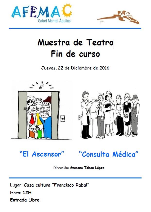 Teatro Navidad AFEMAC Salud Mental