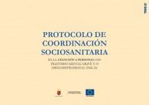 Portada Protocolo coordinacion sociosanitaria salud mental murcia