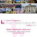 VII congreso mundial de salud mental de la mujer