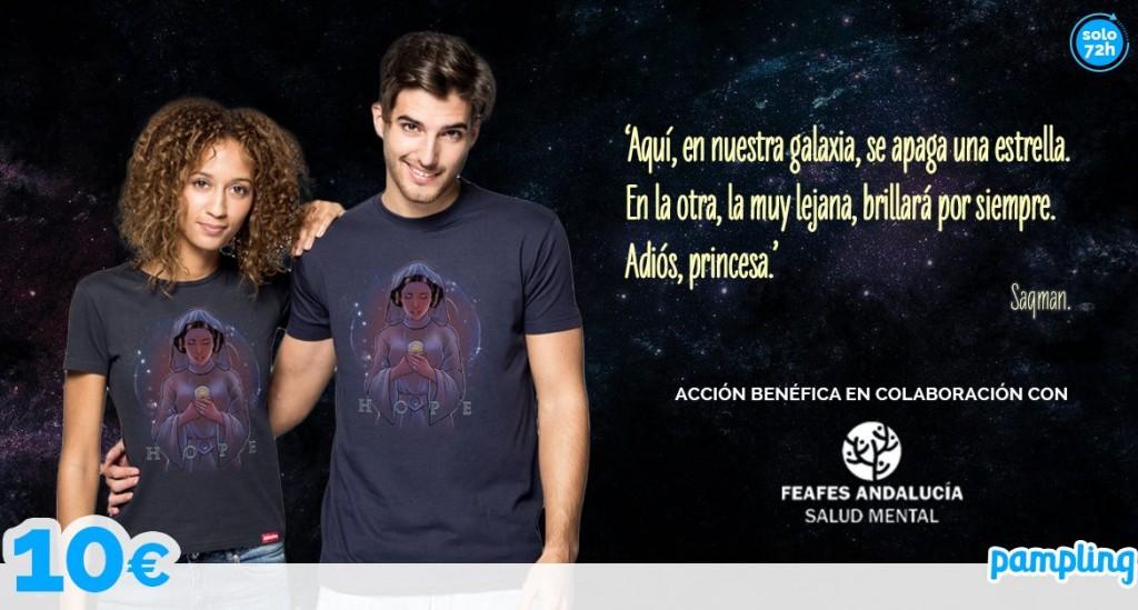 camiseta solidaria salud mental FEAFES Andalucía