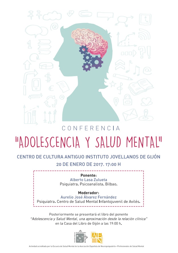 conferencia adolescencia y salud mental