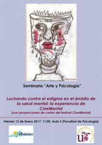 seminario arte y psicología Luchando contra el estigma en salud mental