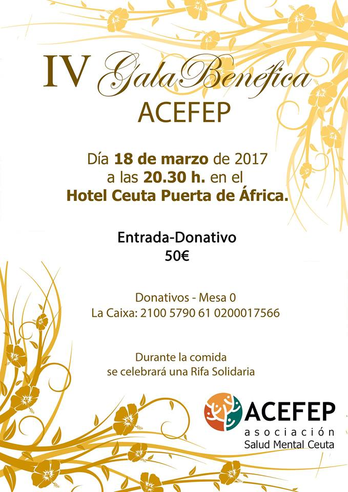 Gala Benéfica Salud Mental Ceuta