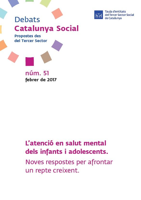 Portada Atencio salut mental infants adolescents