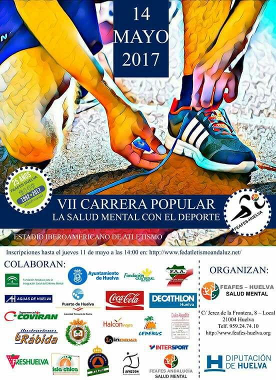VII Carrera FEAFES Huelva