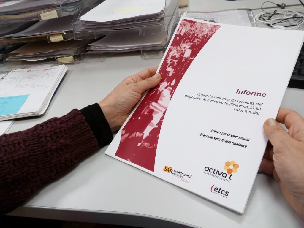 Informe Necesidades información salud mental