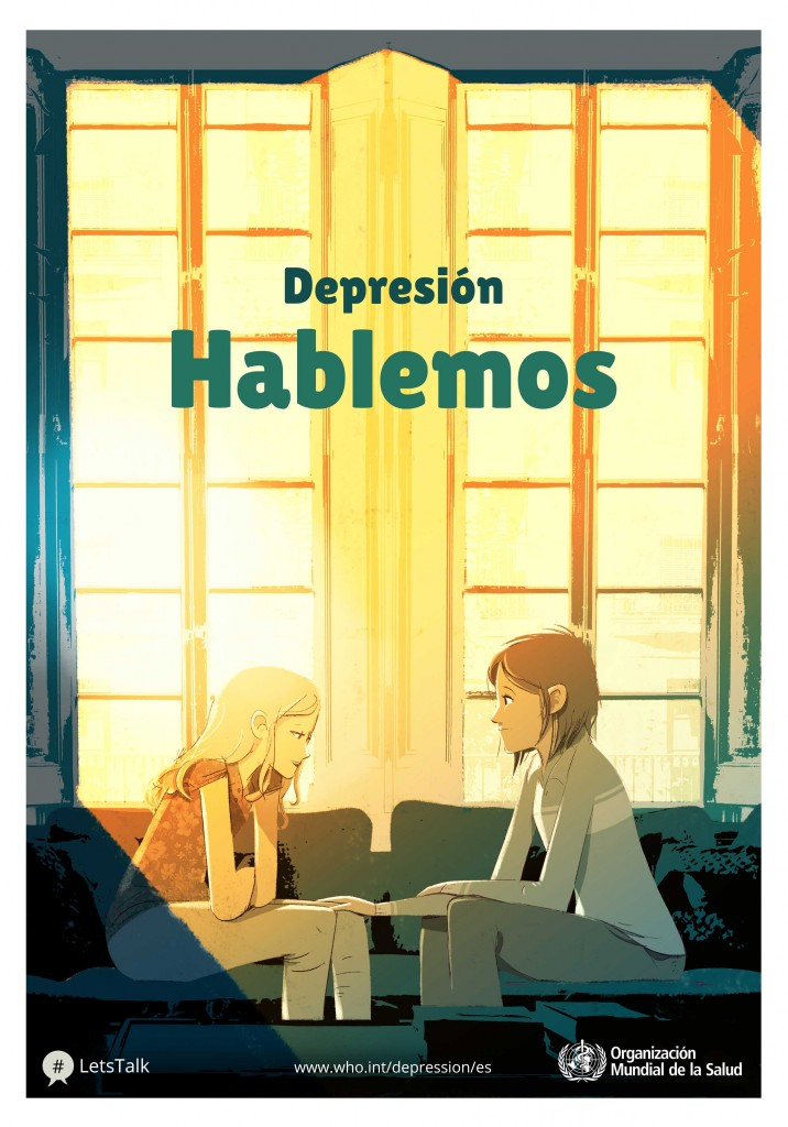 Hablemos de la depresión, campaña de la OMS en el Día Mundial de la Salud 2017