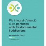 Portada Pla integral salut mental catalunya addiccions