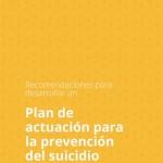 Portada Plan actuacion prevencion suicidio