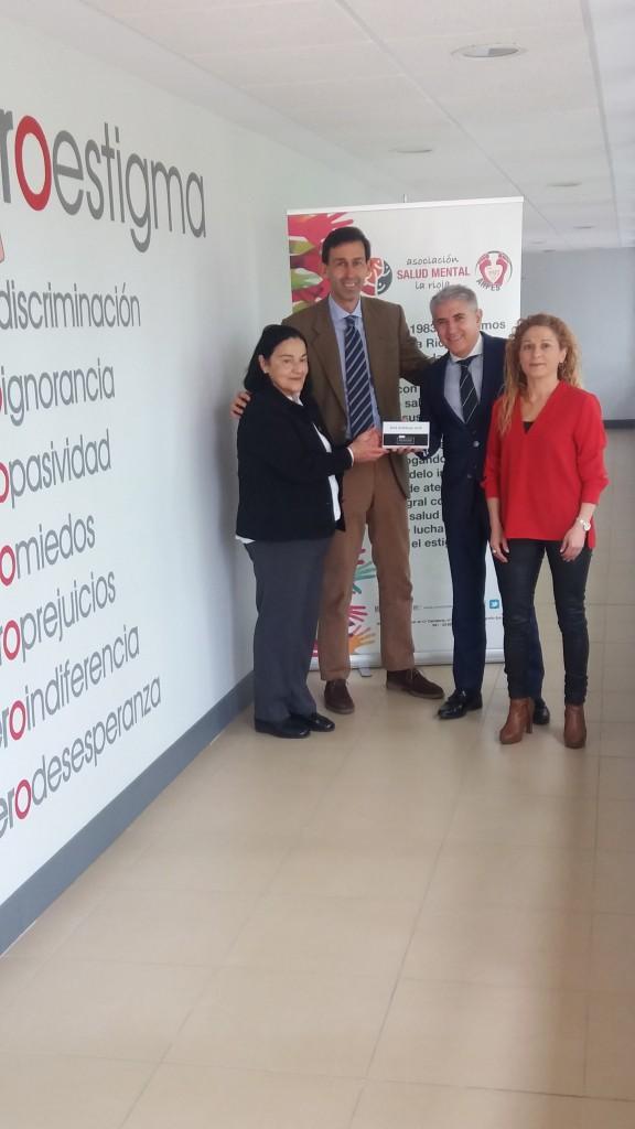 Colaboración Bankia ARFES La Rioja