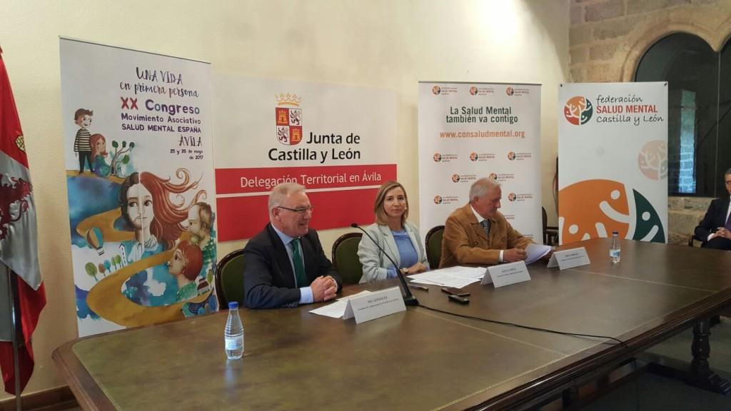 Rueda de Prensa XX Congreso SAUD MENTAL ESPAÑA