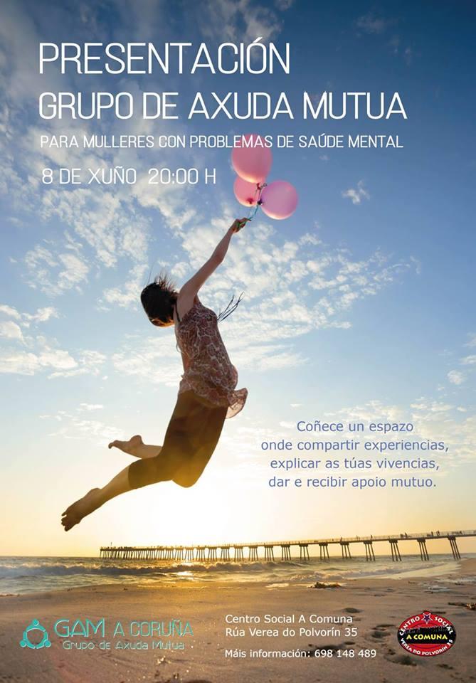 Presentación Grupos de Ayuda Mutua Galicia