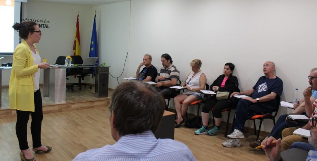 Formación en Salud Mental España para portavoces de UMASAM