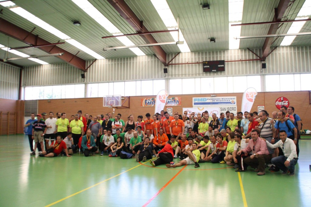 Foto de familia Mentegoles 2017 Salud Mental Castilla y León