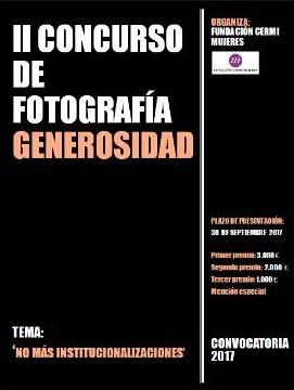 II Concurso de Fotografía 'Generosidad' de la Fundación CERMI Mujeres