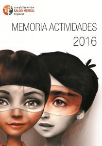 Portada Memoria 2016 SALUD MENTAL