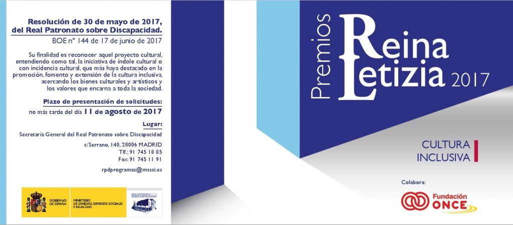 Premio Reina Letizia de Cultura Inclusiva 2017