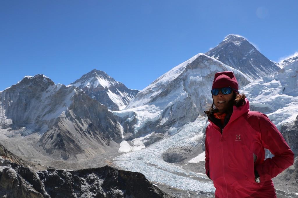 Edurne Pasaban en el Everest