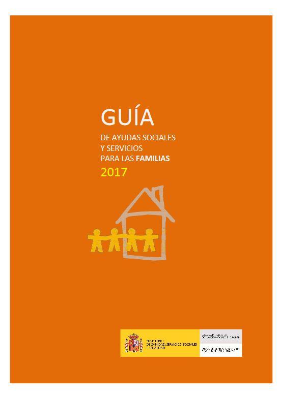 Portada Guia ayudas sociales familias 2017