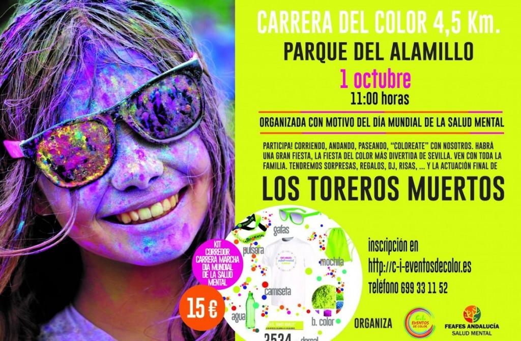 I Carrera Solidaria FEAFES Andalucía Salud Mental