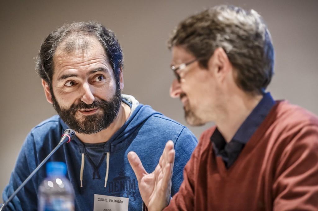 Israel Molinero y Xavier Trabado. Foto de Luis Ros