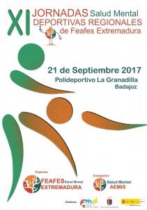 jornadas deportivas 2017 FEAFES Salud Mental Extremadura