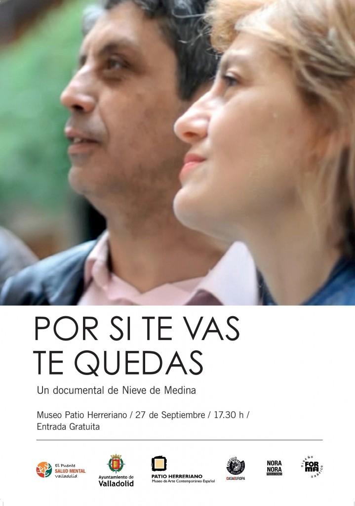 Cartel 'Por si te vas, te quedas' El Puente Salud Mental