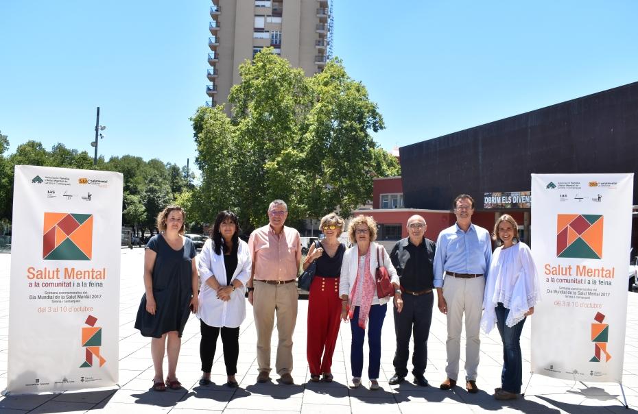 Girona, sede del Día Mundial de la Salud Mental 2017 de Salut Mental Catalunya
