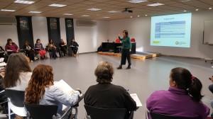 Ana, formadora del Taller de Mujeres y salud mental de SALUD MENTAL ESPAÑA