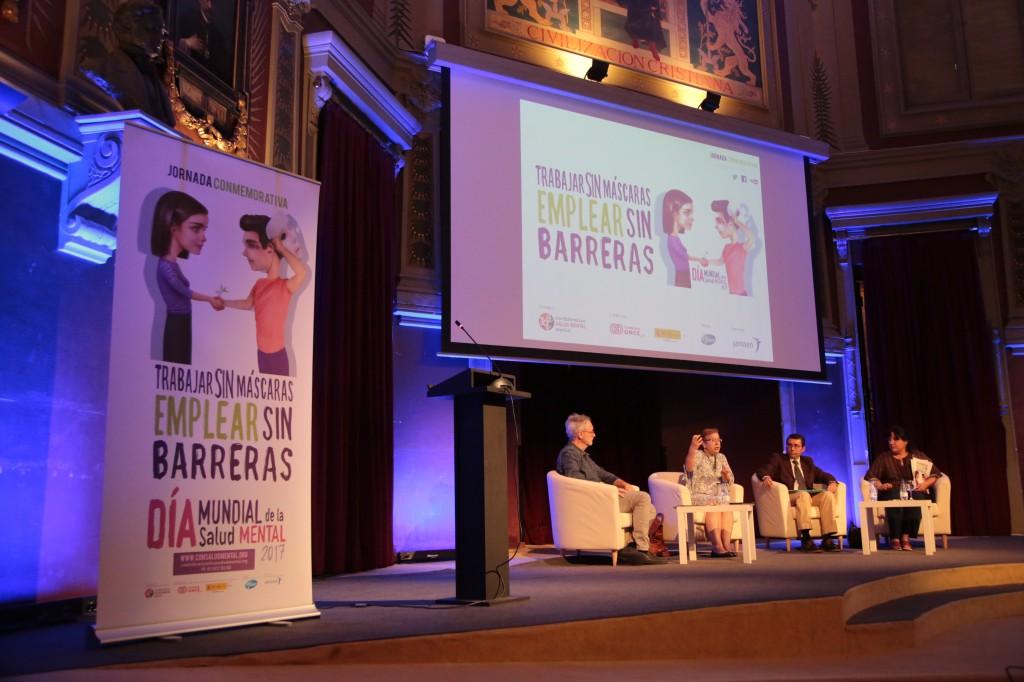 Debate emplear sin barreras SALUD MENTAL ESPAÑA