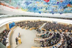 El Consejo de Derechos Humanos. Foto de archivo ONU-Elma Okic