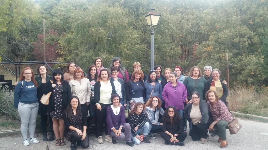 Foto de familia Taller de Mujeres y salud mental de SALUD MENTAL ESPAÑA