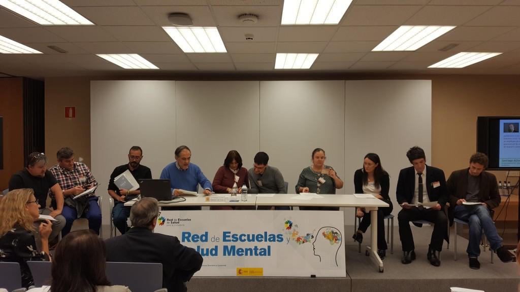 SALUD MENTAL ESPAÑA en la Red Escuelas y Salud Mental