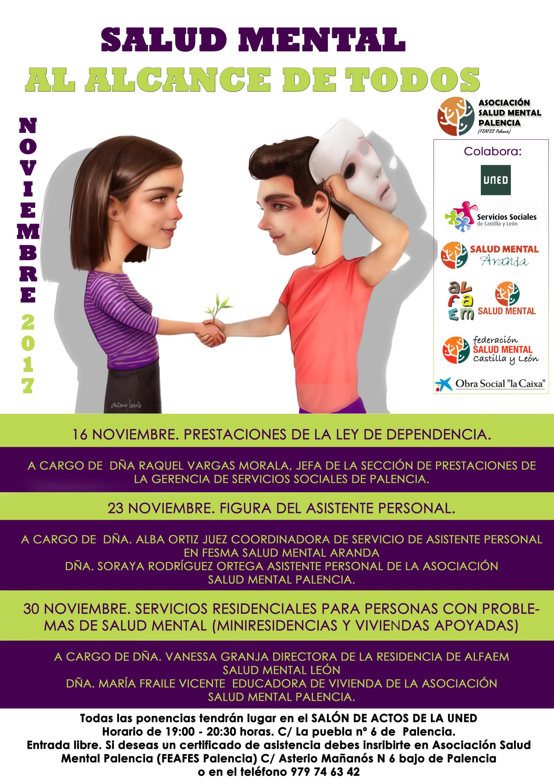 cartel salud mental palencia 2017
