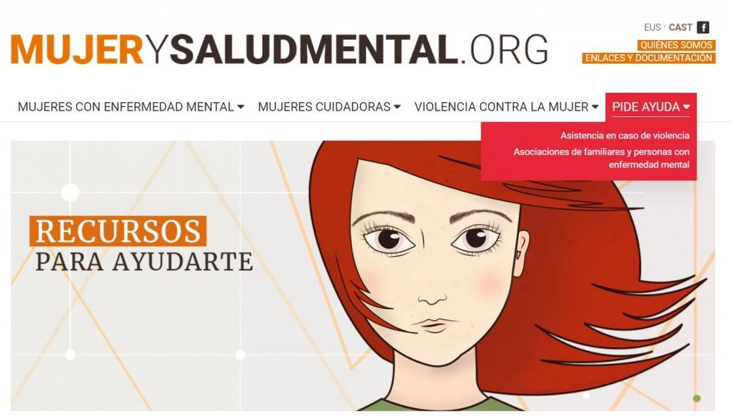web FEDEAFES Mujer y Salud Mental