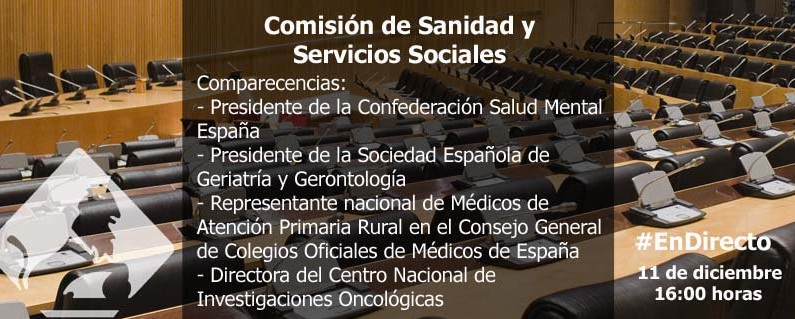 SALUD MENTAL ESPAÑA en el Congreso de los Diputados