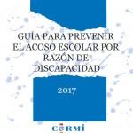 Portada Guía prevenir acoso escolar discapacidad
