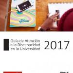 Portada Guia de atencion discapacidad universidad 2017