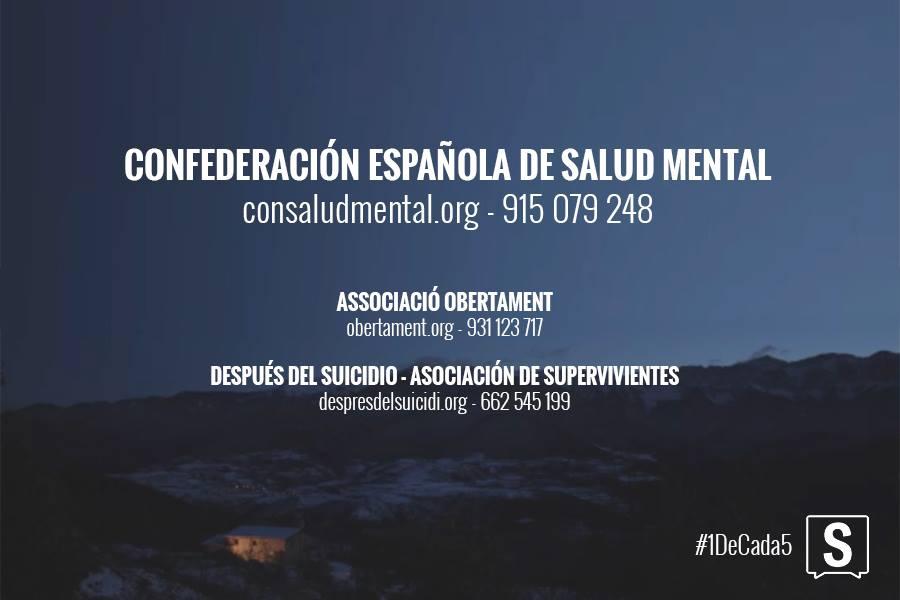 SALUD MENTAL ESPAÑA en Salvados