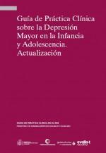 Portada Guía Práctica Clínica depresión adolescencia