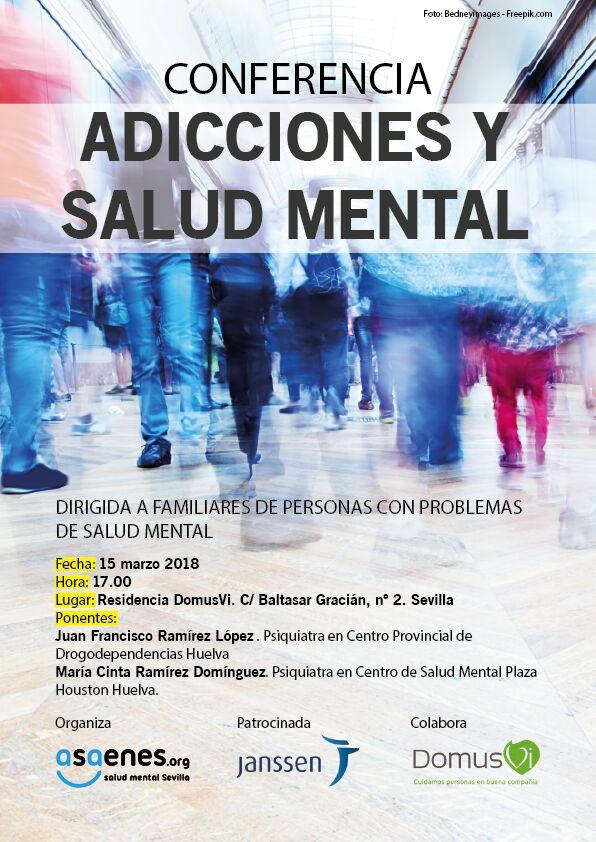 Conferencia Adicciones Salud Mental