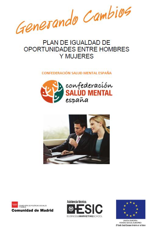 GENERANDO CAMBIOS - Plan de Igualdad SALUD MENTAL ESPAÑA