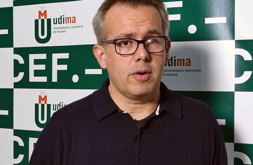 Jose Luis Mendez entrevistado por UDIMA Media